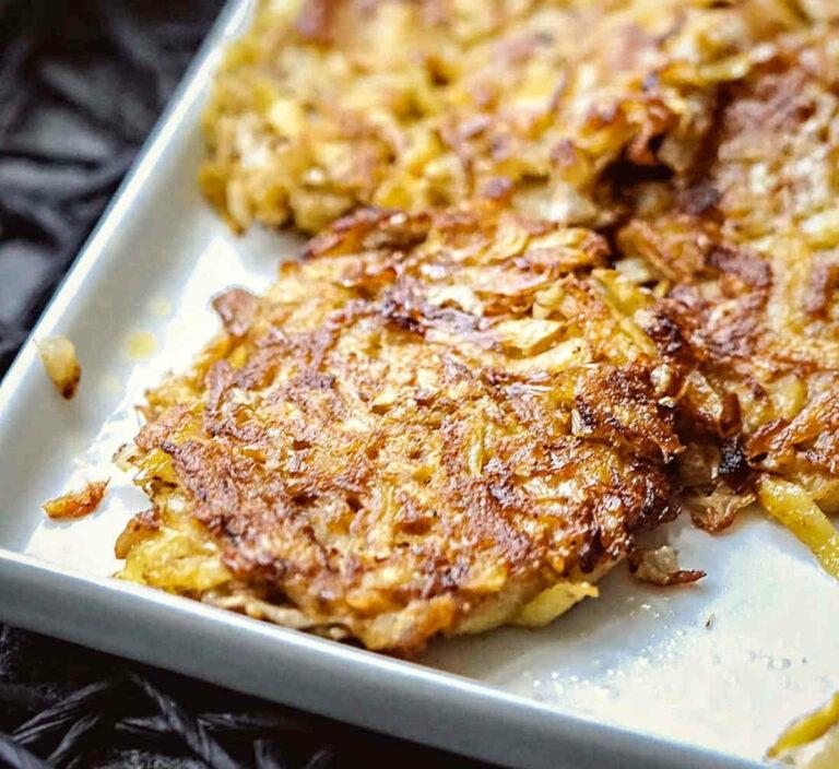 potato fritters recipe